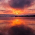 2012 Sunrise on Duck Lake inside Interlochen State Park in Northern Michigan