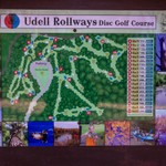 2016 Udell Rollways Disc Golf Course
