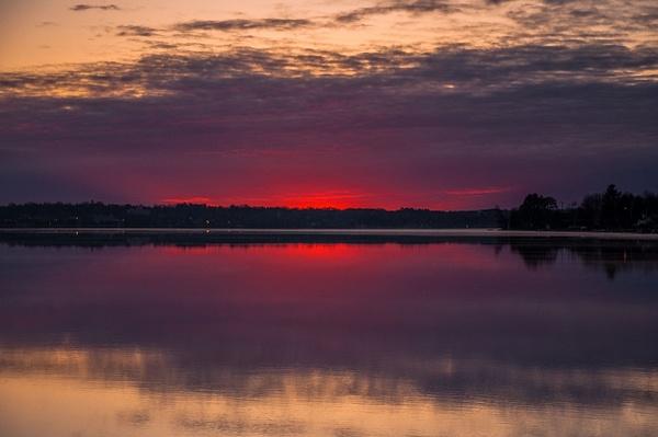 2016 Lake Cadillac Sunrise May by SDNowakowski
