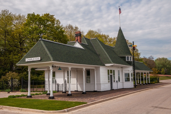 2016 Charlevoix Railroad Depot & Museum May by...