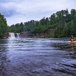 2016 Kayaking Below the Tahquamenon Upper Falls Aug.