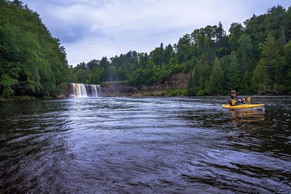 2016 Kayaking Below the Tahquamenon Upper Falls Aug. by SDNowakowski