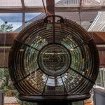 2012 Toledo Harbor Lighthouse 3 1/2 Order Fresnel Lens located inside Maumee May State Park