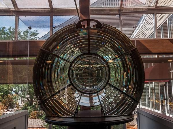 2012 Toledo Harbor Lighthouse 3 1/2 Order Fresnel Lens...