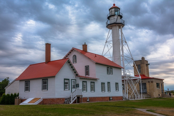 2016 Whitefish Point Lighthouse in UP Aug. by...