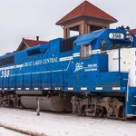 2017 GLC Switching at the Traverse City Railroad Depot in Traverse City, Michigan