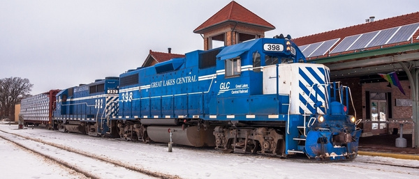2017 GLC Switching at the Traverse City Railroad Depot in Traverse City, Michigan by SDNowakowski