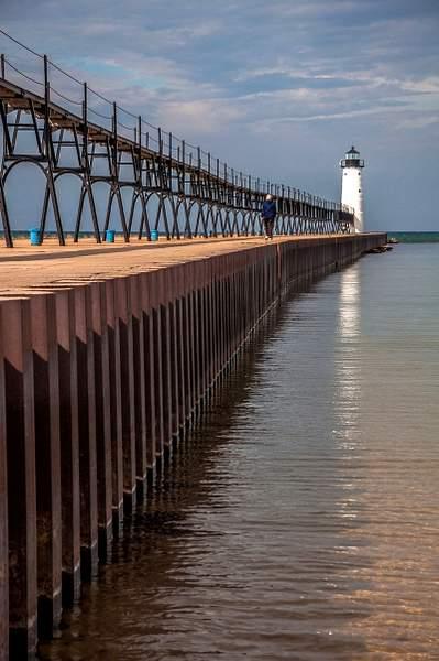 Manistee Pier Light