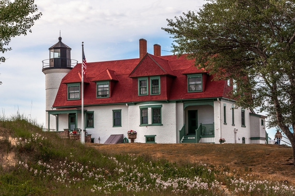 2016 Point Betsie Lighthouse in July by SDNowakowski