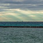 2016 Frankfort Pier Light in October