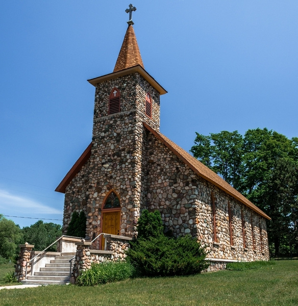 2017 Saint John Nepomucene Catholic Church by SDNowakowski