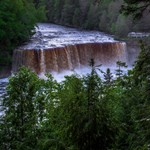 2017 Tahquamenon Upper Falls in June