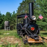 2017 Shay's Railroad in Cadillac, Michigan - July