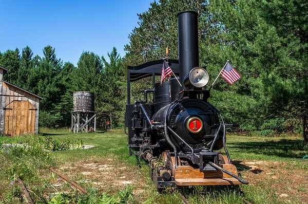 2017 Shay's Railroad in Cadillac, Michigan - July by SDNowakowski