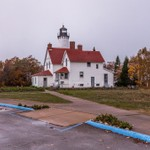 2017 Point Iroquois Lighthouse in Oct.