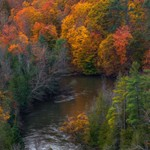 2017 Fall Colors along The Manistee River in Northern Michigan.