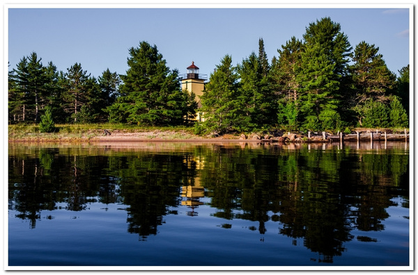 2013 Bete Grise Lighthouse on Keweenaw Peninsula in the Upper Peninsula of Michigan by SDNowakowski