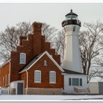2018 Port Sanilac Lighthouse in January