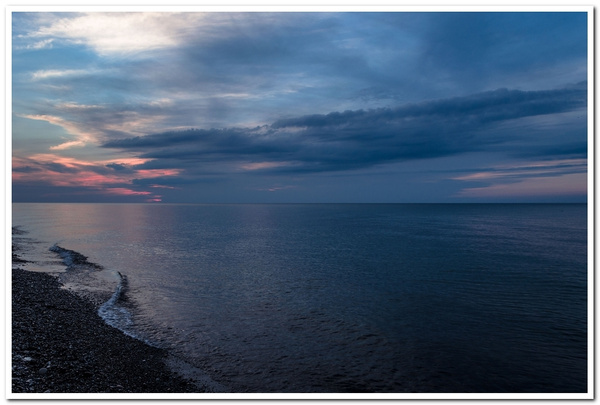 2017 Lake Superior Sunsets from Aug in Muskallonge Lake...