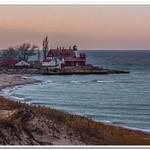 2017 Point Betsie Lighthouse December Sunrise