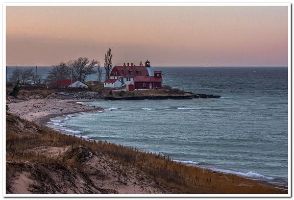 2017 Point Betsie Lighthouse December Sunrise by...