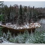 2017 Manistee River winter Pics @ RR Bridge in Northern Michigan