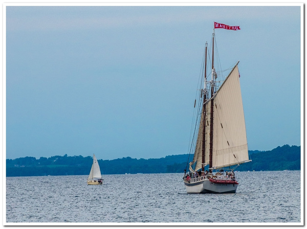 2012 Manitou Sailing Ship on West Grand Traverse Bay in...
