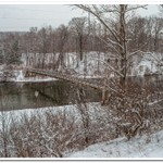 2018 Winter @ Croton Dam on the Muskegon River & Trail Bridge on the Manistee River below Hodenp