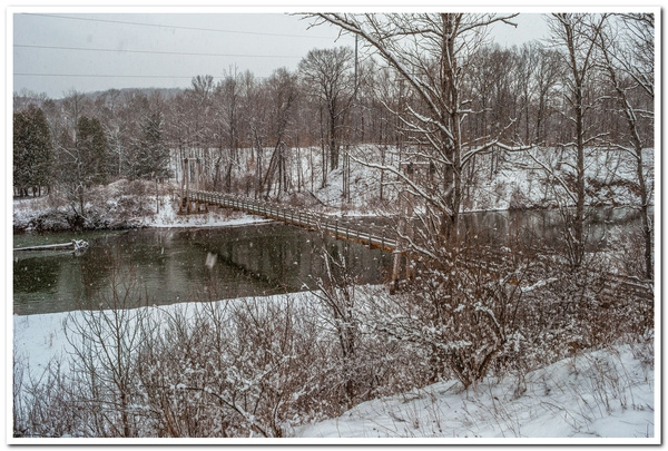 2018 Winter @ Croton Dam on the Muskegon River &...