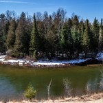 2018 Manistee River Landscape & Pano pictures taken in March