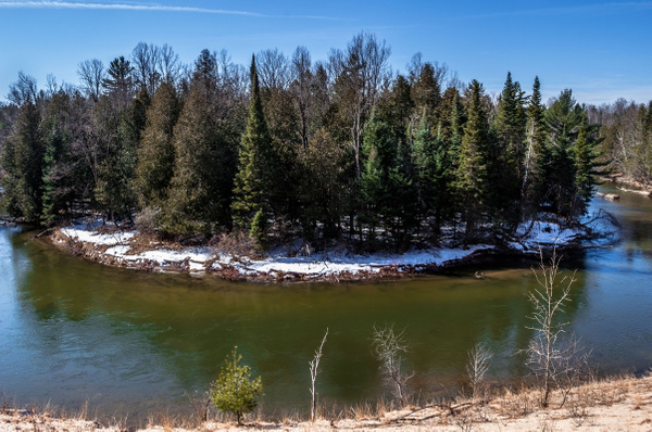 2018 Manistee River Landscape & Pano pictures taken...