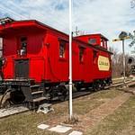 2018 Grayling & Saline RR Depots in early April