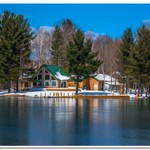 2018 April Cold Snap on Lake Gitchegumee in Buckley, Michigan