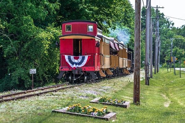 2018 Huckleberry Railroad @ Crossroads Village in June...