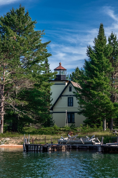 Bete Grise Lighthouse by SDNowakowski