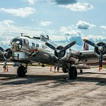 2018 B-17 Bomber Madras Maiden on Display at The Toledo Airport July 28th & 29th