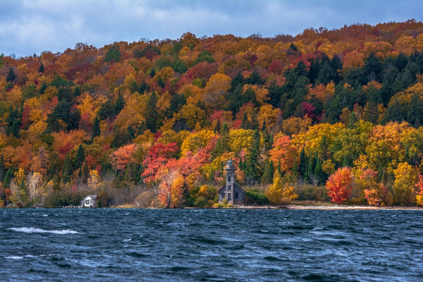 2018 Fall Colors around the Old Grand Island East...