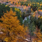 2018 Fall Colors @ The Buckley Roll-Way in Buckley, Michigan in October