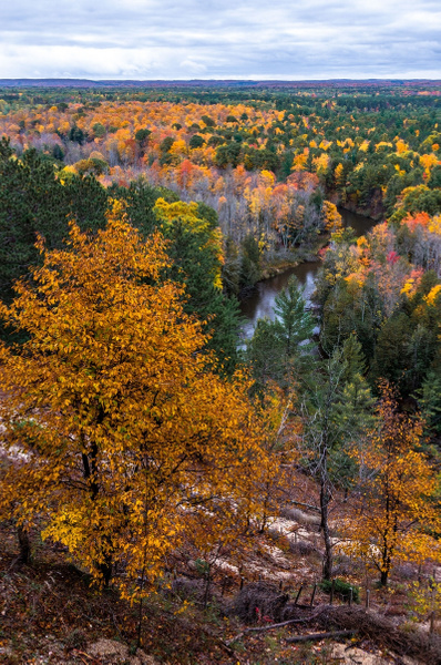 2018 Fall Colors @ The Buckley Roll-Way in Buckley,...