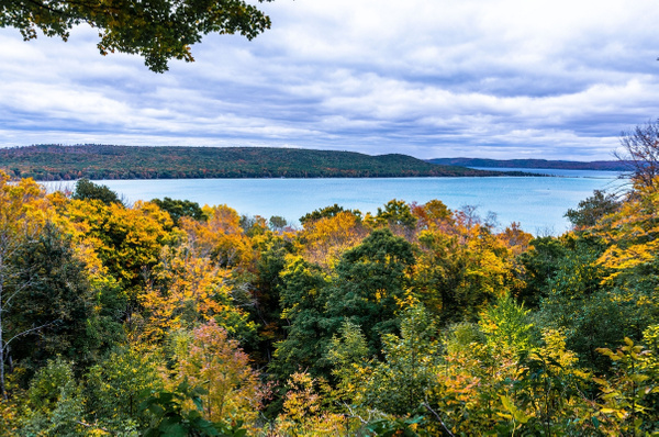 2018 Fall Colors around Northern Michigan & Manistee...
