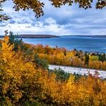 2018 Fall Colors in Frankfort, Michigan & Sleeping Bear Dunes in October