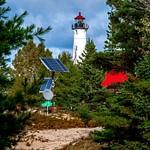 2018 Crisp Point Light on Lake Superior in October