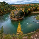 2018 Fall Color Phonographic pics of the Manistee River in Northern Michigan