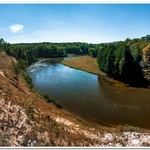 2018 Manistee River Pano Pictures