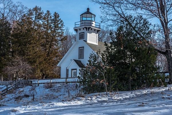 Old Mission Point Lighthouse by SDNowakowski