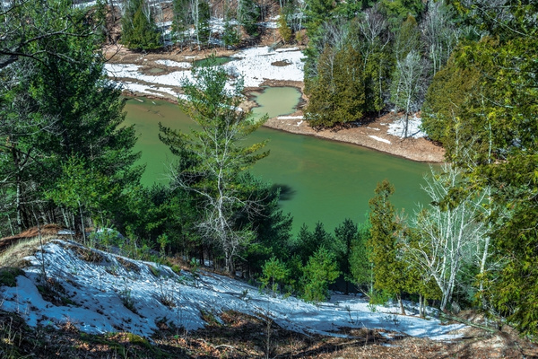 2019 Spring Thaw on the Manistee River in Northern...