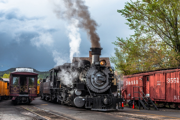 2019 Durango & Silverton Narrow Gauge Railroad May...