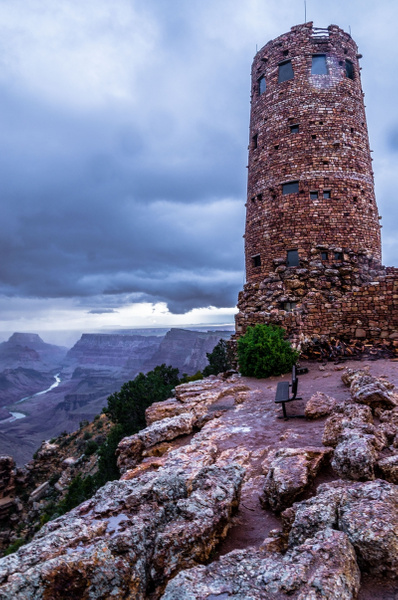 2019 Spring Thunderstorms over Grand Canyon National...