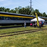 2019 Steam Train Rides @ The Cadillac Car Show in Downtown Cadillac, Michigan in early June