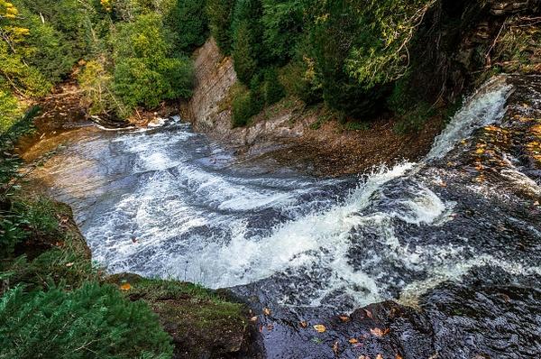 2018 Laughing Whitefish Falls Scenic Site taken in Sept....